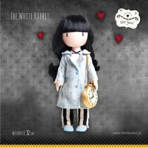"Lalka Gorjuss ""The White Rabbit"""