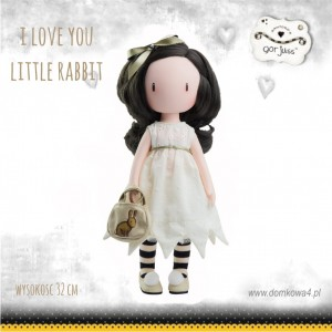 "Lalka Gorjuss ""Little Rabbit"""